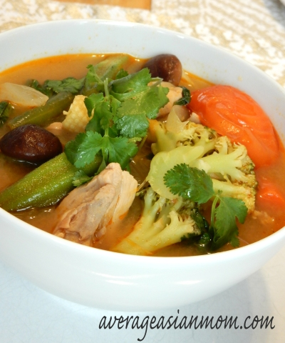 Tom Yum Gai (Chicken) Soup