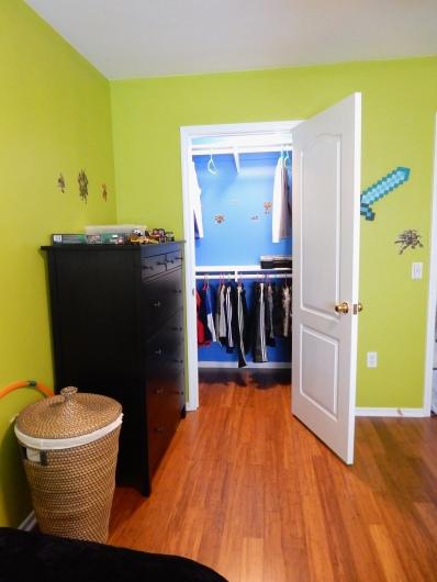 Kid's bedroom in Ninja Turtle theme