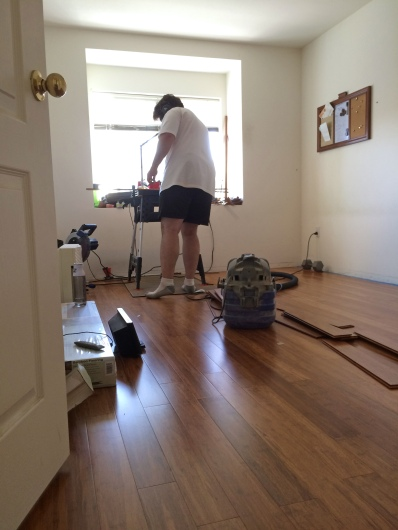 Installing Bamboo Wooden Floors