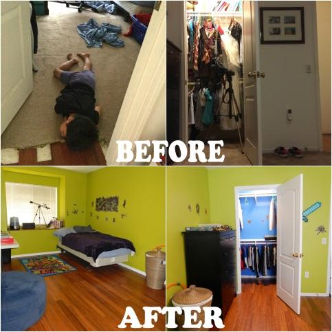 Kid's Bedroom Transformation