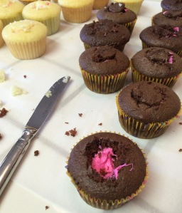 Easy Gender Reveal Cupcakes