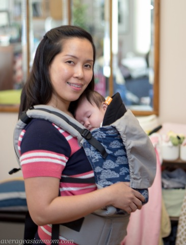 Tula baby carrier in skyscape design