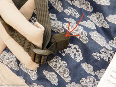 Tula baby Carruer Strap.1