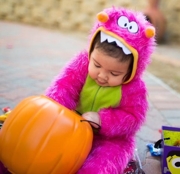 Pink Monster Toddler