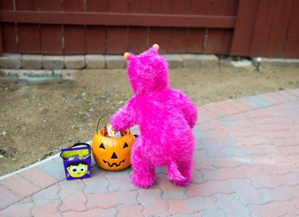 Pink Monster Toddler
