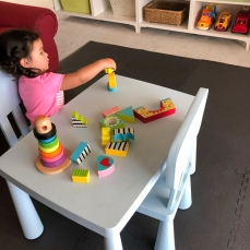 Playing Building Blocks